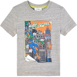 Image of The Marc Jacobs Branded Printed T-Shirt Gray 10 år (1807452)