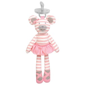 Image of Apple Park Pacifier Buddies, Ballerina Mouse 0 - 12 mdr. (1876094)