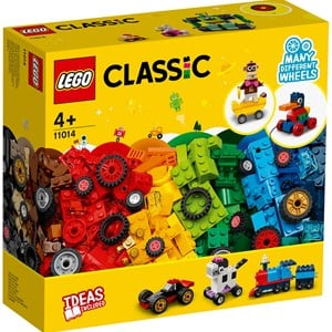 Image of LEGO Classic 11014 LEGO®LEGO Classic Bricks and Wheels 4+ years (1849123)