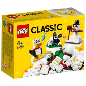 Image of LEGO Classic 11012 LEGO®LEGO Classic Creative White Bricks 4+ years (1849124)
