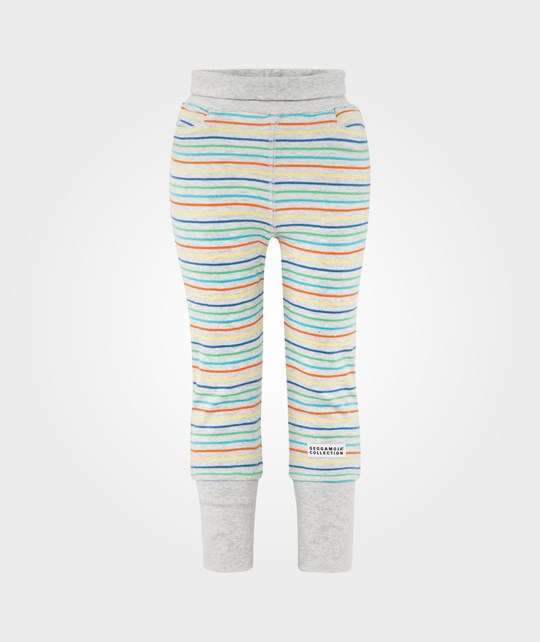 Geggamoja Babytrouser Multi Grey Sort