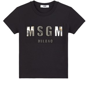 Image of MSGM 3D Branded T-shirt Sort 10 år (1752526)