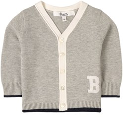 Bonpoint Knitted Cardigan Gray