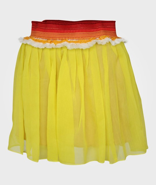 Scotch R'belle Double Layer Skirt Yellow Yellow
