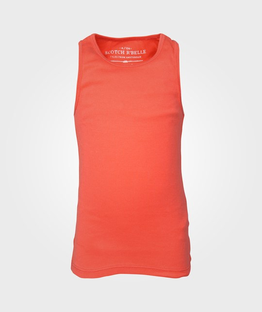Scotch R'belle Basic Singlet Coral Red