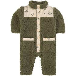 Kuling Kuling x Garbo & Friends Teddy Coverall Green/Buttercup Honey