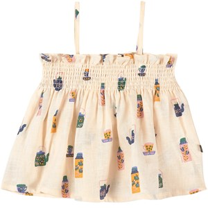 Image of Oeuf Baby Smock Outfit Gardenia 12-18 mdr (1861420)