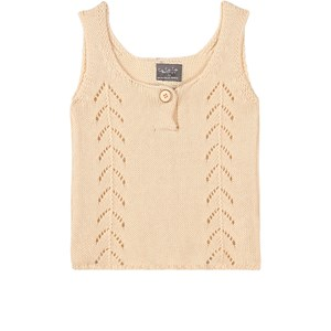 Image of Tocoto Vintage Baby/Kid Knit Top Off-White 2 år (1742969)