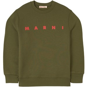Image of Marni Branded Sweatshirt Grøn 8 år (1744190)
