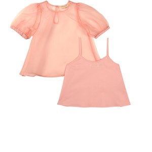 Image of Soft Gallery 2-delt Hyacinta Bluse Tropical Peach 10 år (1737892)