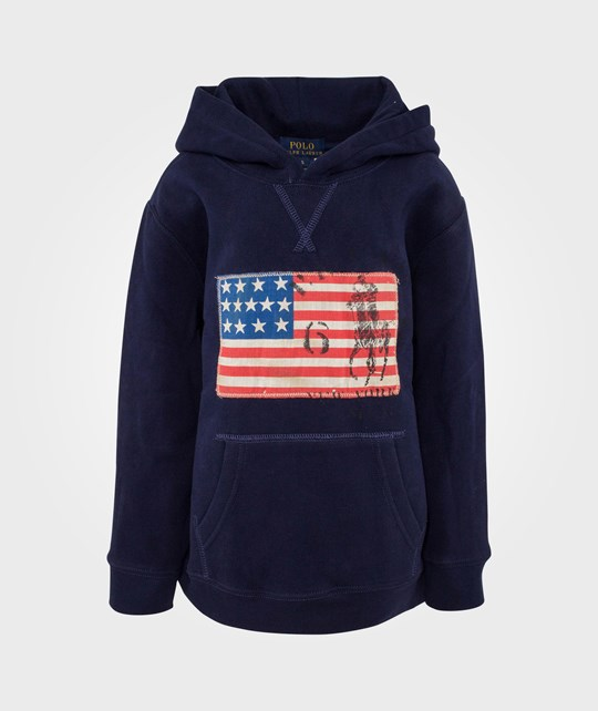 Ralph Lauren Po Hood French Navy Blue