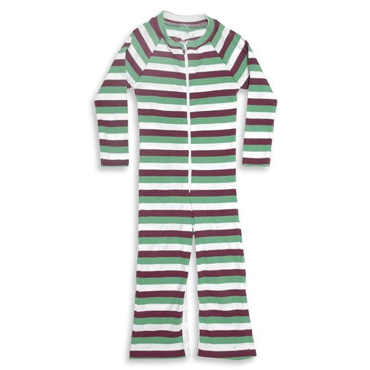 Moonkids Suit Purple Green and White Green