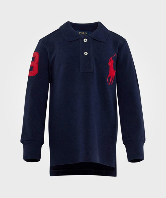 Ralph Lauren Ls Polo W/ Bpp French Navy Blue