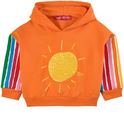 Agatha Ruiz de la Prada Sunshine & Stripes Huvtröja Orange