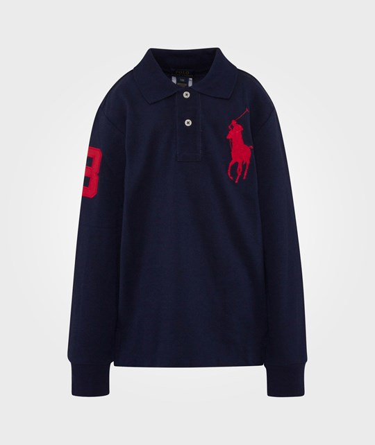 Ralph Lauren Ls Cf Polo W/ Bpp French Navy Blue
