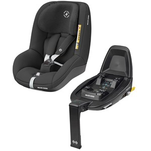 Image of Maxi-Cosi Pearl Smart i-Size Car Seat Authentic Black with Familyfix2 Base one size (1882163)