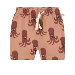 MAINIO Octopus Shorts Camel Brown