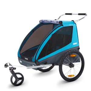 Image of Thule Coaster XT Double Cykelvogn Blå one size (1887950)