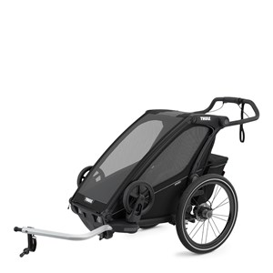 Image of Thule Chariot Sport 1 Single Cykelvogn Midnight Black one size (1887951)