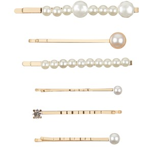 Image of Mimi & Lula 6-Pack Pearly Hårgreber Multifarvede one size (1736558)