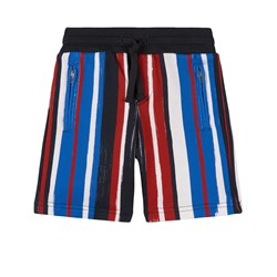 Dolce & Gabbana Multi Brush Stroke Shorts Svarta