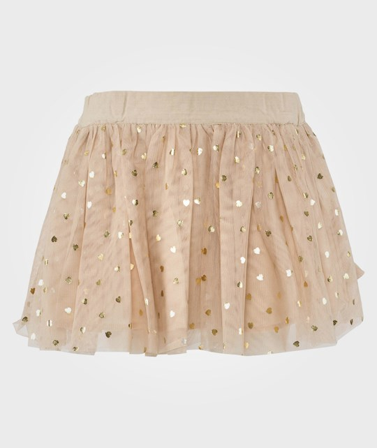 Stella McCartney Kids Honey Heart Pr Skirt Marshmallow White