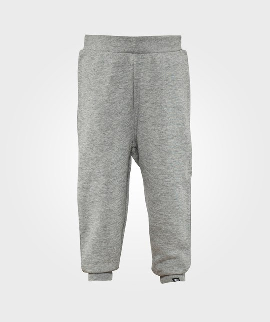 Cheap Monday Trousers Baby Sweat Pants Skull Grey Melage Sort
