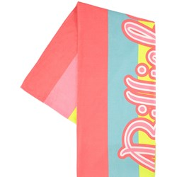 Billieblush Logo Striped Beach Towel Multicolor