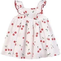 Mayoral Cherry Dress Red