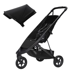 Image of Thule Spring Klapvogn Black/Midnight Black one size (1910490)