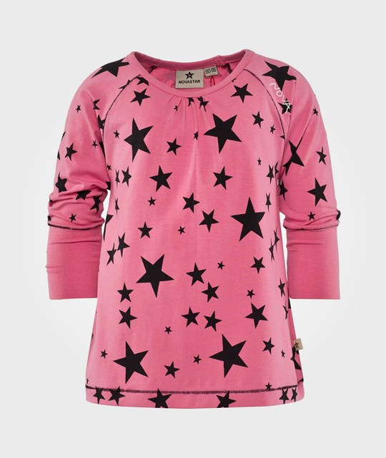 Nova Star Top Girlie Starlet PINK/BLACK