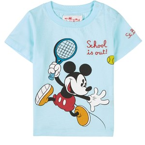 Image of MC2 Saint Barth Mickey Tennis T-shirt Mintgrøn 10 år (1860882)