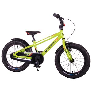 """Image of Volare Rocky Bicycle Green 16"""""""" 4 - 6 years (1881531)"""