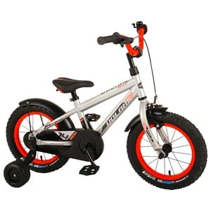 """Image of Volare Rocky Bicycle Silver 14"""""""" 3 - 5 years (1881529)"""