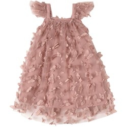 DOLLY by Le Petit Tom Vintage Butterflies Tutu Kjole Rosa
