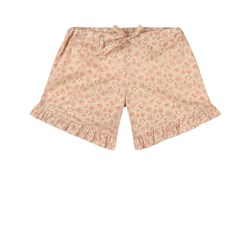 Wheat Dolly Floral Shorts Beige