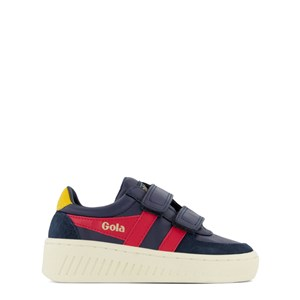 Image of Gola Kids Grandslam Classic Sneakere Navyblå 26 (UK 8) (1807597)
