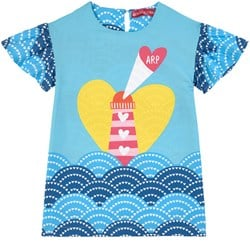Agatha Ruiz de la Prada Lighthouse Print Dress Klänning Blå