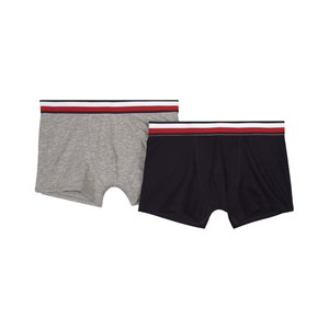 Image of Tommy Hilfiger 2-pak Logo Boxers Sort 12-14 Years (1861354)