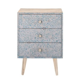 Bloomingville Frigga Chest Of Drawers Blue
