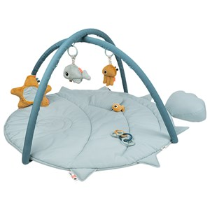 Image of Done by Deer Activity Play mat Sea friends Blue one size (1869993)