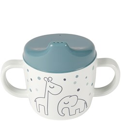 Done by Deer Dreamy Dots Sippy Cup Blue