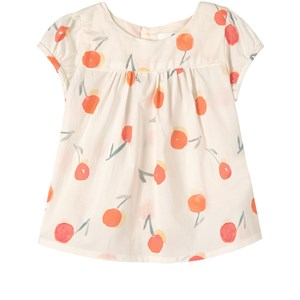 Image of Bonpoint Cherry Print Top Hvid 6 mdr (1859865)