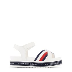 Tommy Hilfiger Flag Stripes Sandals White