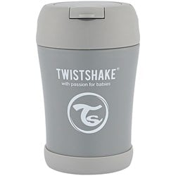 Twistshake 350 ml Insulated Food Container Pastel Gray