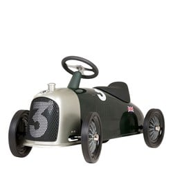 Baghera Heritage Bentley Ride-On Car Gray