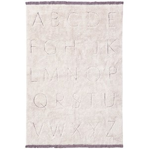 Image of Lorena Canals RugCycled washable rug ABC one size (1881108)