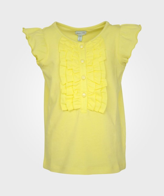 Mini A Ture Ajo, K T-shirt Sun sheen Yellow