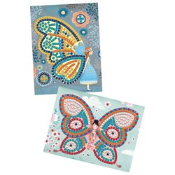 Djeco Butterfly Mosaic DIY Set