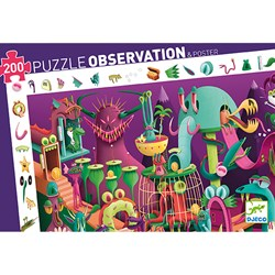 Djeco Observation Puzzle, In a video game 200 pcs